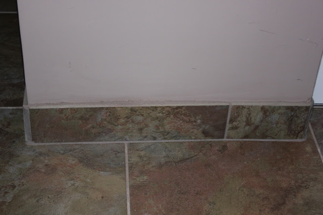 Bathroom Tile Baseboard