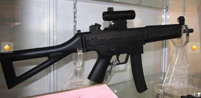 Chinese Mp5 Style 9mm Submachine Gun China Defense Blog