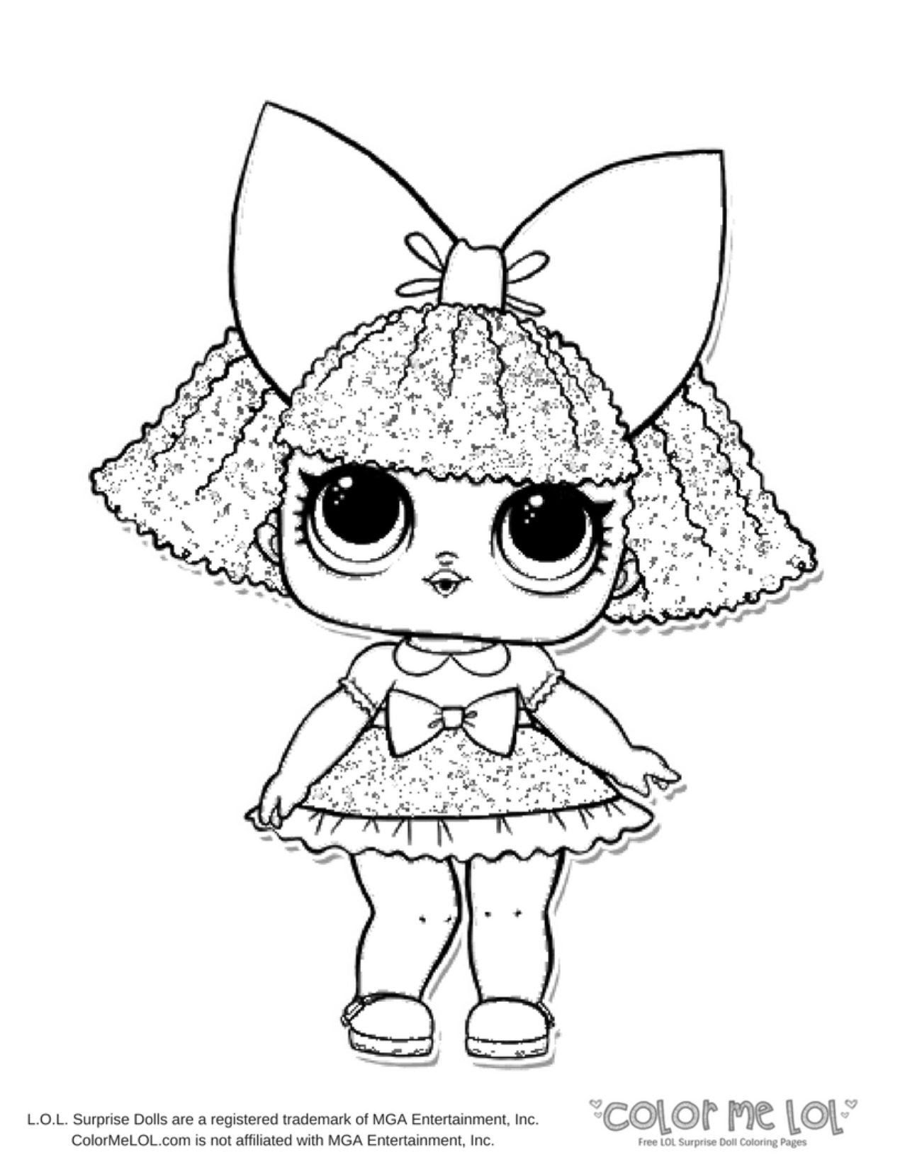 Apollinaire Leanna - Free Coloring Pages: Lol Under Wraps Coloring Pages