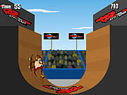 Jogar Extreme taz skateboard halfpipe Jogos