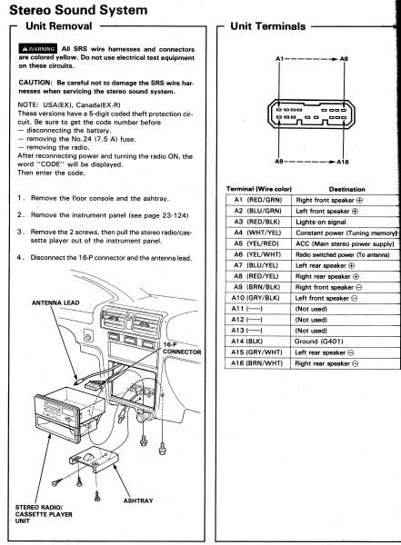 2001 Honda Civic Power Window Wiring Diagram