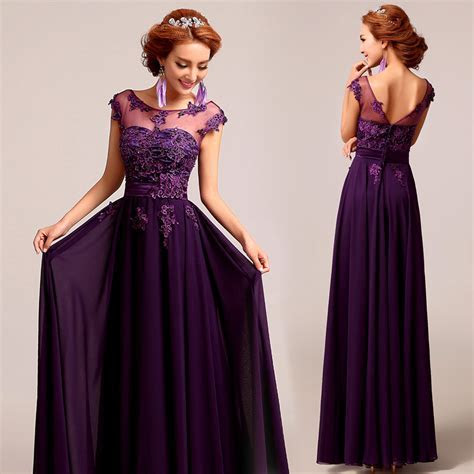 bridesmaid dresses purple lace UK ? Budget Bridesmaid UK