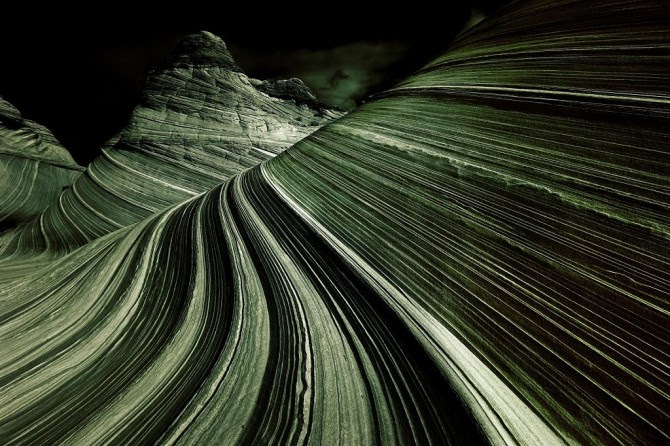 The Wave, Coyote Buttes, Arizona, United States