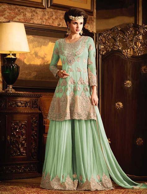 Pin by Resham Fabrics on Latest Pakistani Sharara suits