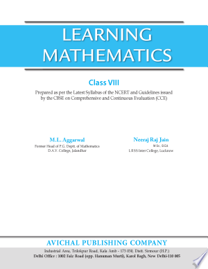 cherry pdf: Book APC Learning Mathematics - Class 8 (CBSE