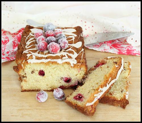 Cranberry Maple Pecan Breakfast Cake