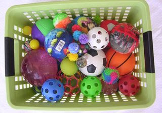 Ball-basket