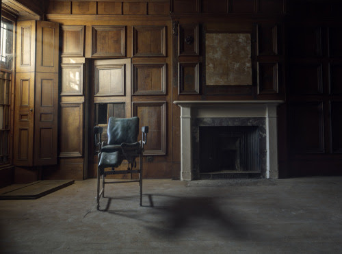 fuckyeahabandonedplaces:  Abandoned asylum, north wales, united kingdom  Could you imagine what it felt like to be in this old asylum? A patient in the throes of horror. Strapped to a table with probes and wires attached to your body. Waves of terror pulsing through your body. Praying and hoping that you weren't on the list for a lobotomy. I could hear their screams and feel their pain. A sad time in history.