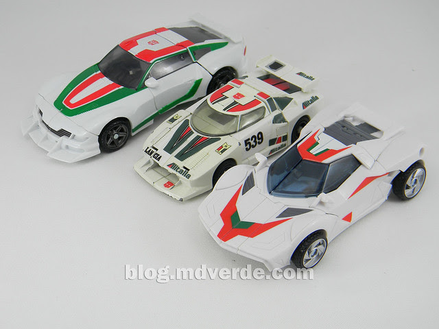 Transformers Wheeljack - Prime RID - modo alterno vs G1 vs Generations