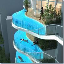 Balcony Swimming Pool