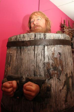 Museum of Medieval Torture Instruments: Barrel of shame