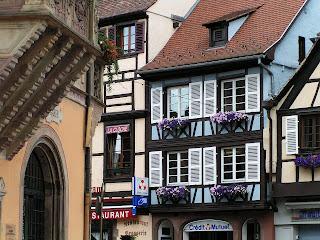 Casas de comerciantes, Obernai, Alsácia