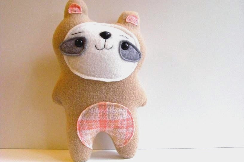 LIMITED EDITION - Peony - The Woodland Bear - Made to Order