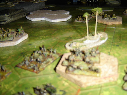 Americans hold hill against Banzai charge - Battle of Pacific RR