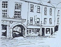 ink drawing of Tralee