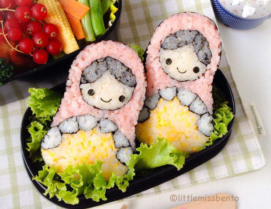 Russian Doll Sushi