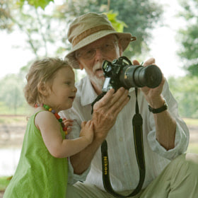 Girl and his grand-father by Pierre SUCHET (PierreSuchet) on 500px.com