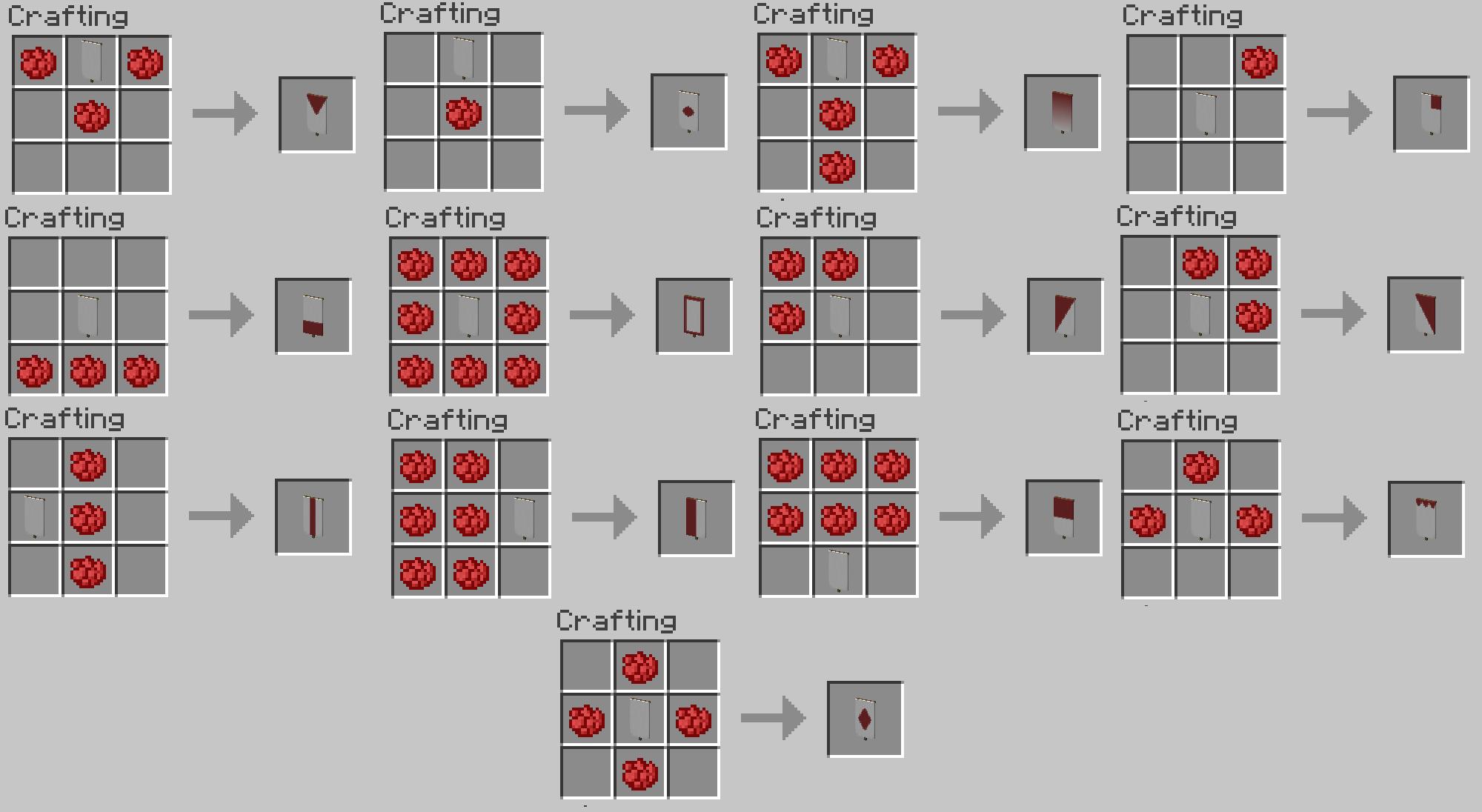 Contoh Soal Dan Materi Pelajaran 2 Banner Recipes Minecraft