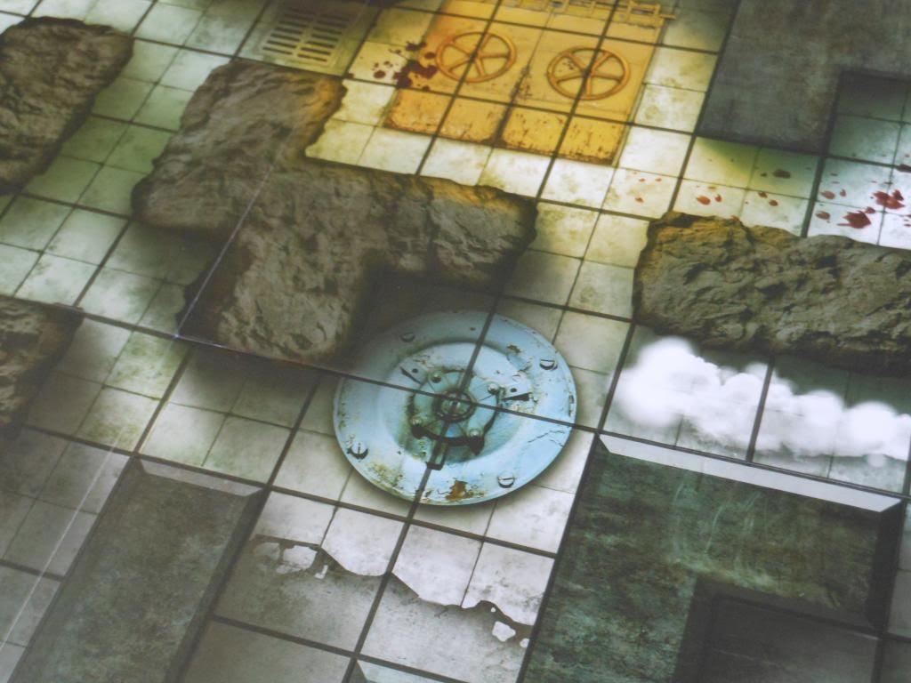 Incursion game board