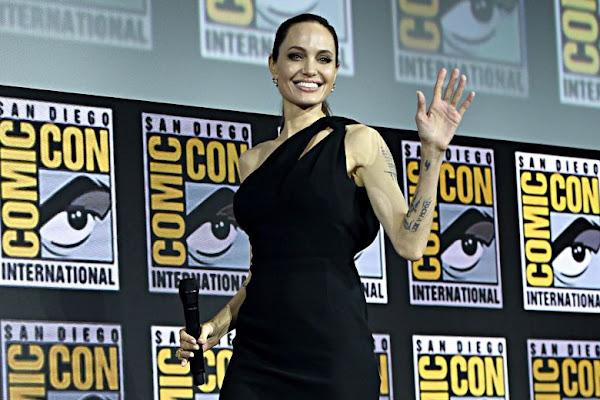 Image result for Теперь точно! Анджелина Джоли присоединилась к Вселенной Marvel