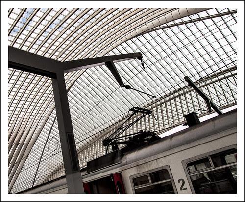 station Guillemins Luik by hans van egdom
