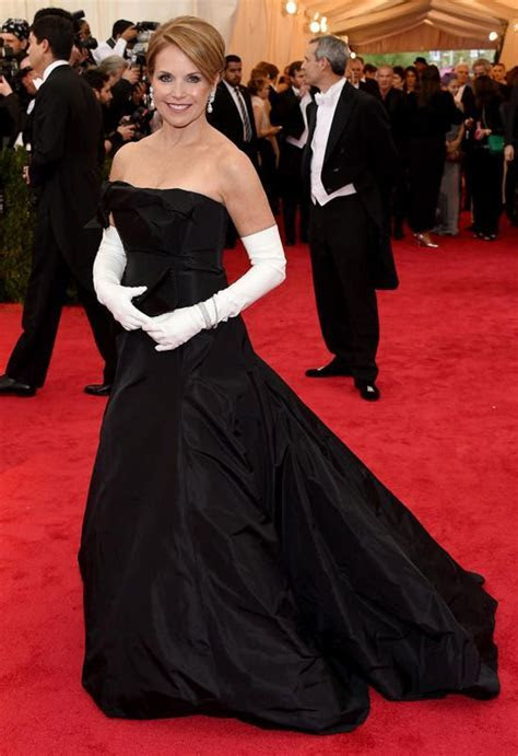 Katie Couric Met Gala   Award Show Fashion   Met gala 2014