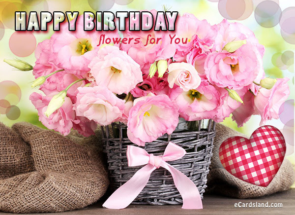 Creative Birthday Wishes With Flower Bouquet Nice Wishes