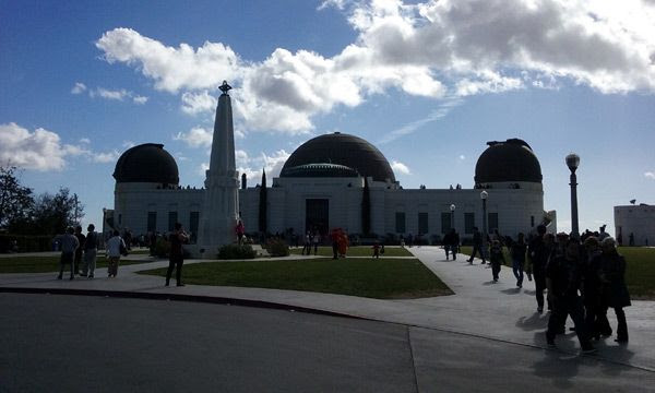Visiting Griffith Observatory after an almost 23-year absence...on January 21, 2017.
