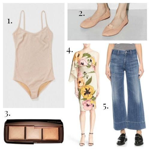 Base Range Swimsuit - Acne Studios Shoes - Hourglass Powder - Tracy Reese Dress - Citizens of Humanity Jeans