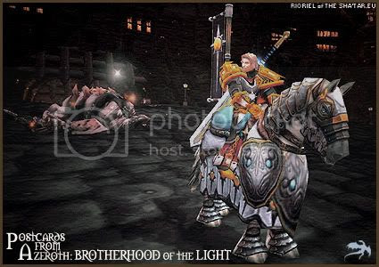 Postcards of Azeroth: Brotherhood of the Light, by Rioriel of theshatar.eu