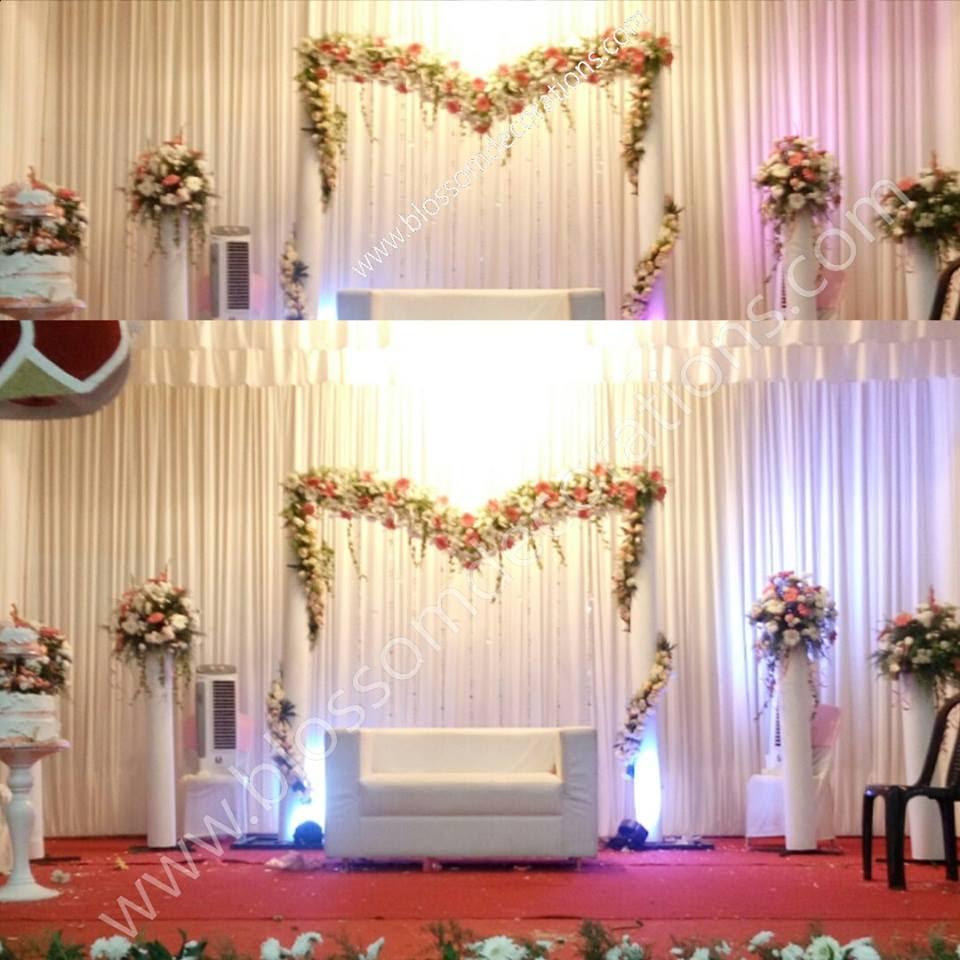 Simple Wedding Stage Decoration Ideas: Kerala Wedding Decorations