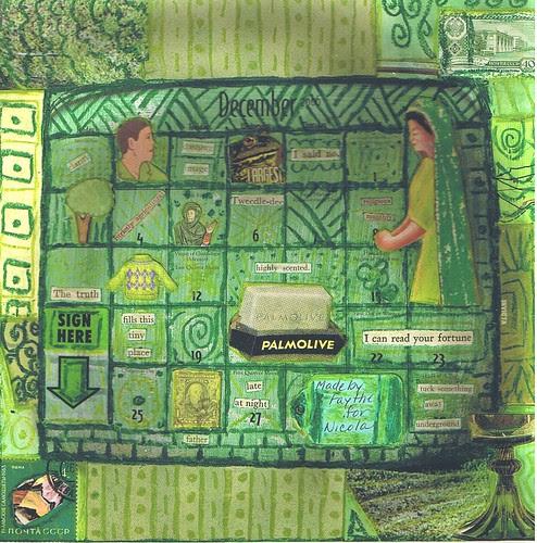 Altered Calendar - Green