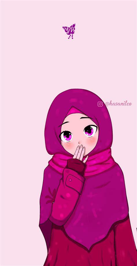 gambar kartun muslimah nu khazanah islam