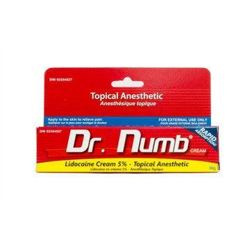 Dr Numb 30g Tube Anesthetic Cream Tattoo Supplies Underworld