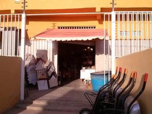 Loja de material de construção é assaltada em Petrolina, PE (Foto: Cesar Willian/ TV Grande Rio)