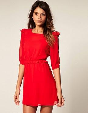 Image 1 - ASOS - Mini robe avec volants