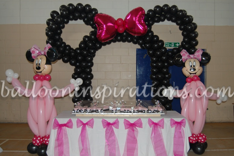 Popular Girls Party Themes Minnie Mouse Party Decorations