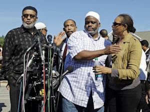 Ibrahim Rahim, second from right, brother of shooting …