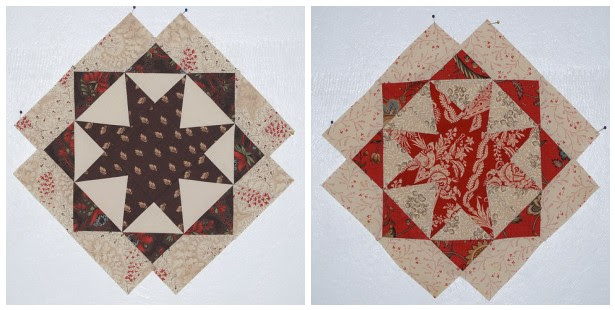 Maison de Garance three star quilt