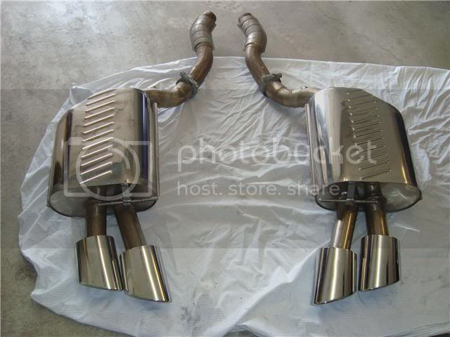 Authentic Eisenmann Exhaust Bmw M5 Forum And M6 Forums