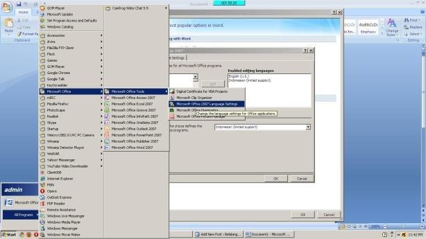 DUNIA PERAWAT: Mengubah Tampilan Microsoft Office 2007 ...