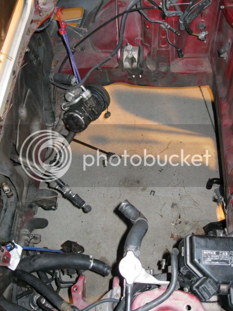 Mr2 Garage  Engine Is Out