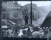 Piazza della Loggia, il momento dell'esplosione
