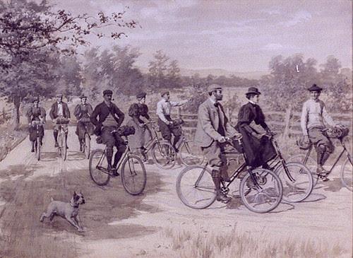 """""""Tweed Ride"""" - 1896"""