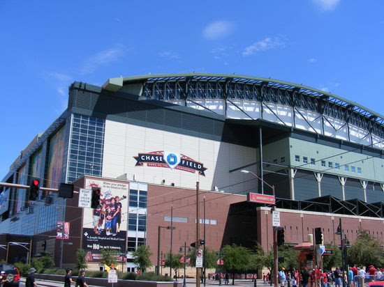 first view of chase field.JPG