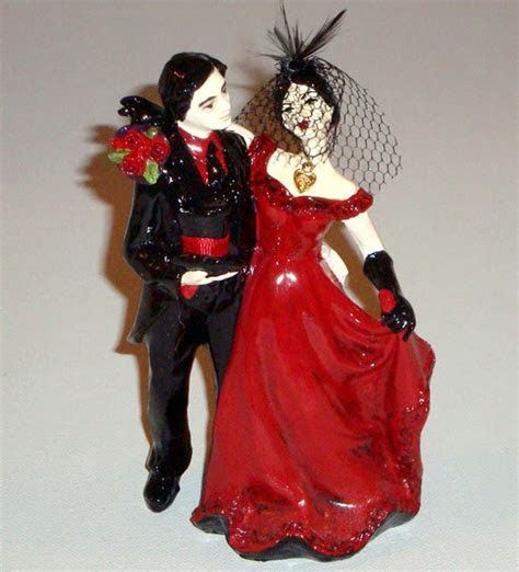 Red Wedding Cake Toppers   Tyler Living