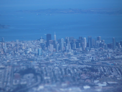 Downtown San Francisco Aerial