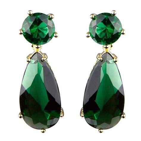 Why you will love green earrings   StyleSkier.com