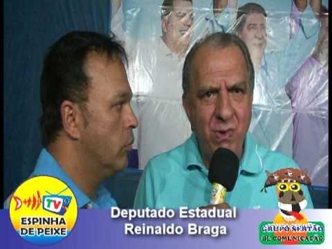 WEB TV ESPINHA DE PEIXE - Passeata do 15 - Deputado Reinaldo Braga - XIQUE-XIQUE-BA
