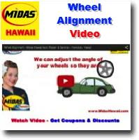 Midas Hawaii Wheel Alignment Service Midas Hawaii Auto Repair And Service